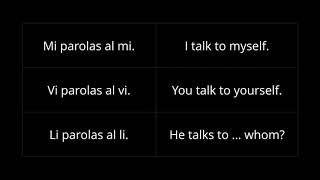 "Esperanto 101: Euphony, ""Po"", Predicate, Reflexive, Relative, Accusative Of Preposition"