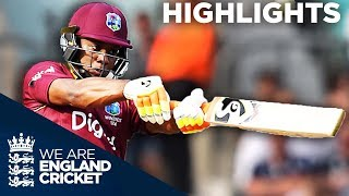 Lewis Hits Stunning 176 Before Buttler And Ali Fight Back - England v West Indies 4th ODI 2017