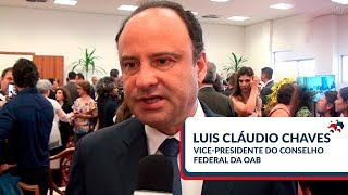 Luis Cláudio Chaves | Vice-presidente do Conselho Federal da OAB