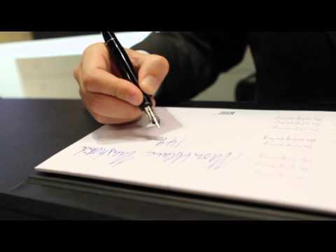 Obama, Buffett, the Dalai Lama: Their Favorite Pen