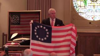 American Flag Presentation by Tom Connelly
