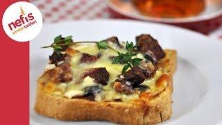 Kahvaltılık Minik Pizza | Nefis Yemek Tarifleri