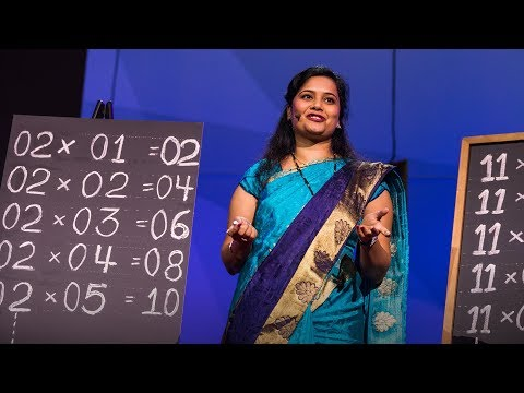 The hidden messages in multiplication | Uma Adwani | TED Institute