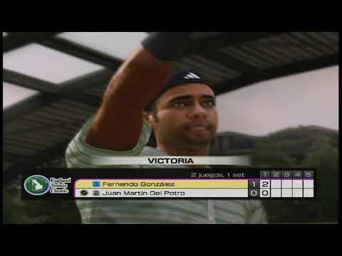 Virtua Tennis 4 - Fernando Gonzalez vs Juan Martin Del Potro.