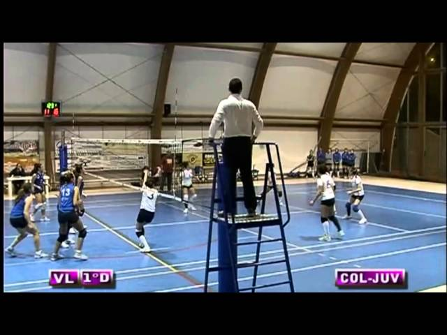 ASD Colonnetta vs Pro Juventute - 1° Set