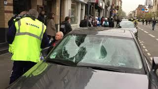 Gilets jaunes : une manifestation sous tension et de la casse à Lille thumbnail