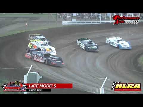 River Cities Speedway - NLRA Highlights - 6/15/18
