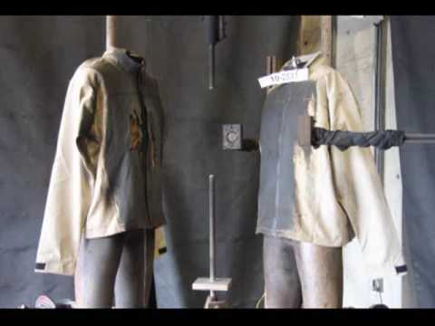 Arc Flash Jacket test