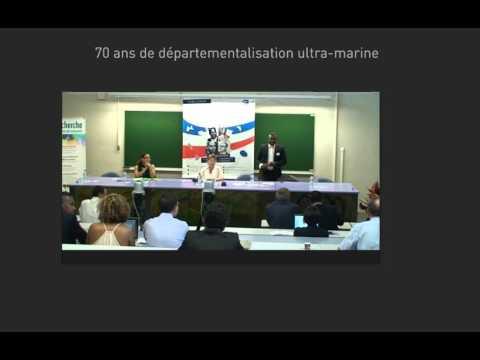 En direct 1946 - 2016 : 70 ANS DE DÉPARTEMENTALISATION ULTRA-MARINE