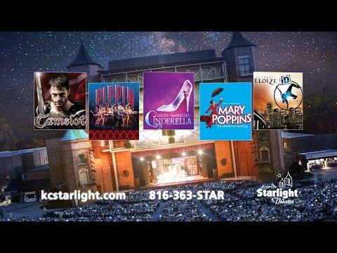Kansas City Starlight Theatre Broadway Season Tickets - 2015