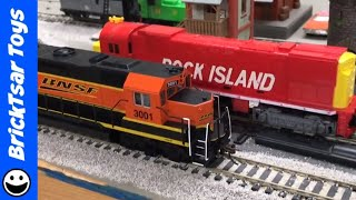 Running 2 Trains on DC HO Scale Layout in Opposite Directions!