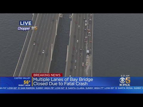 Fatal Crash Triggers Massive Bay Bridge Backup