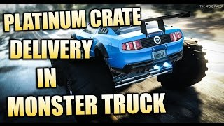 Delivering Platinum Crates in a Monster Truck - The Crew Calling All Units