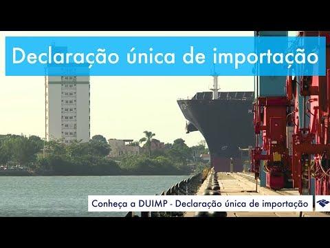 DUIMP (Declaração Única de Importação) - YouTube