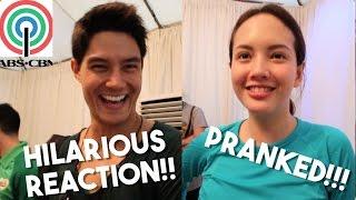 Download ABS-CBN Stars Get Pranked! HILARIOUS REACTION (Ft. Daniel Matsunaga, Ellen Adarna, Solenn Heussaff) Mp3 and Videos
