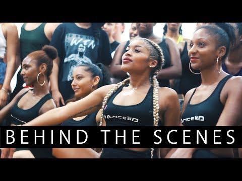 I LOVE ME  [BEHIND THE SCENES] CARIBBEAN DANCE CLASS [INHALEMEE]