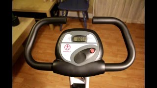 Marcy Foldable Exercise Bike review - under $130 exercise bike. Mp3