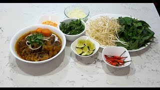 Mì bò kho - New York / Beef stew egg noodle