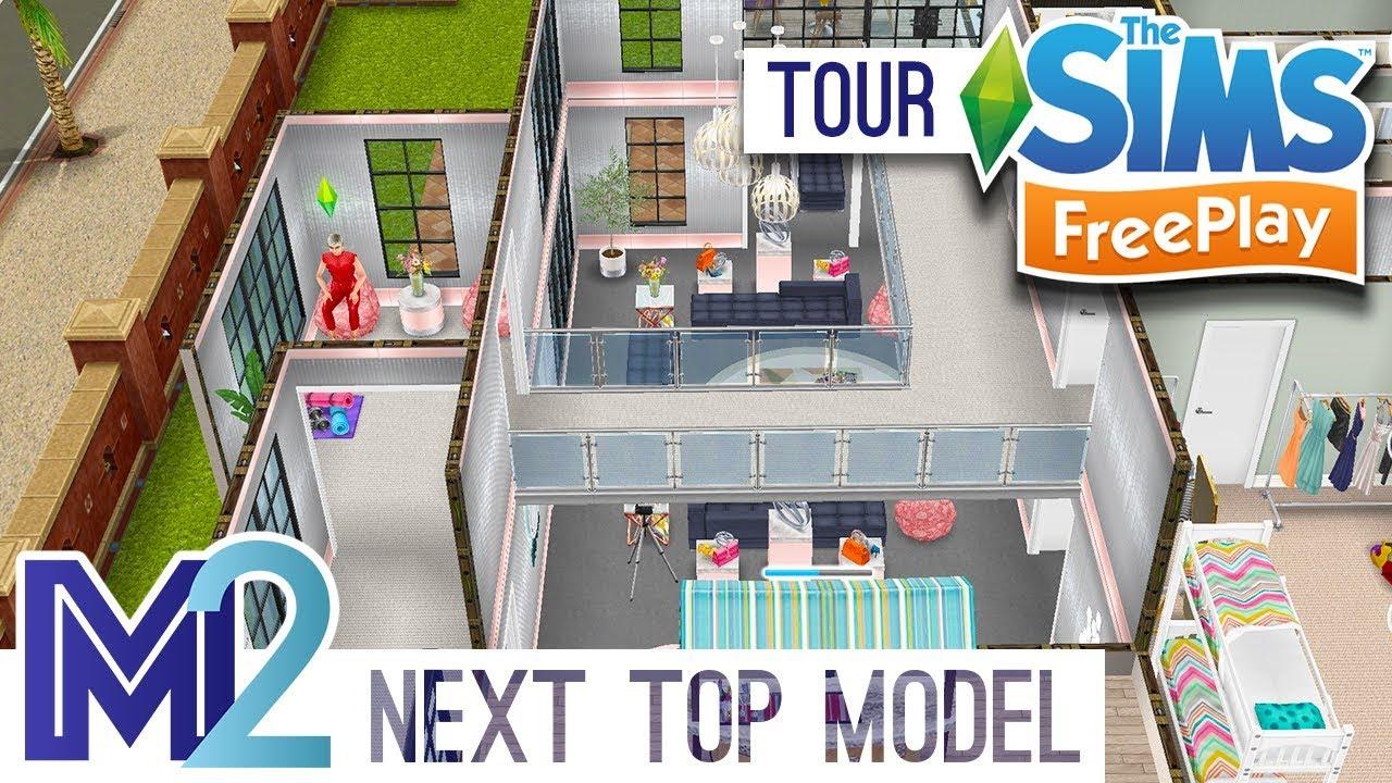 Sims FreePlay - Next Top Model House (Original Design)