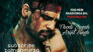 thodi-jagah-lyrical-arijit-singh
