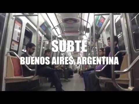 Paseo en Subte (Buenos Aires, Argentina)