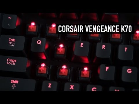 Corsair Vengeance K70 Keyboard Overview