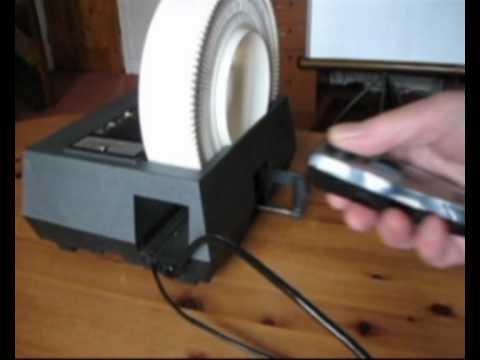 Hanimex Slide Projector 1200RF