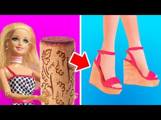 20 Kreatywnych Pomyslow Dla Twojego Barbie Youtube