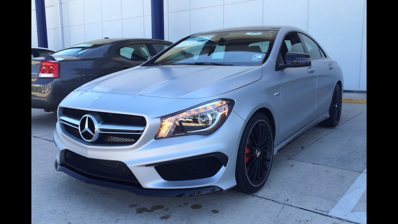 2014 mercedes benz cla class cla45 amg exhaust start up. Black Bedroom Furniture Sets. Home Design Ideas
