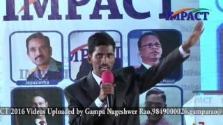 Bal Raju at IMPACT Hyderabad 2016