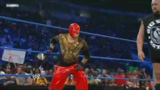 WWE SmackDown 6/18/10 - Kane BeatenUp By BigShow JackSwagger CM Punk And 619 *HD*