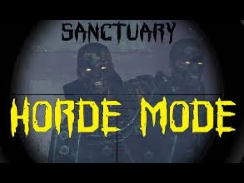 Zombie Army Trilogy Horde Game Play |