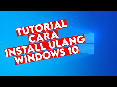 Tutorial Install Windows 10 Pake Flashdisk TERBARU 2019.
