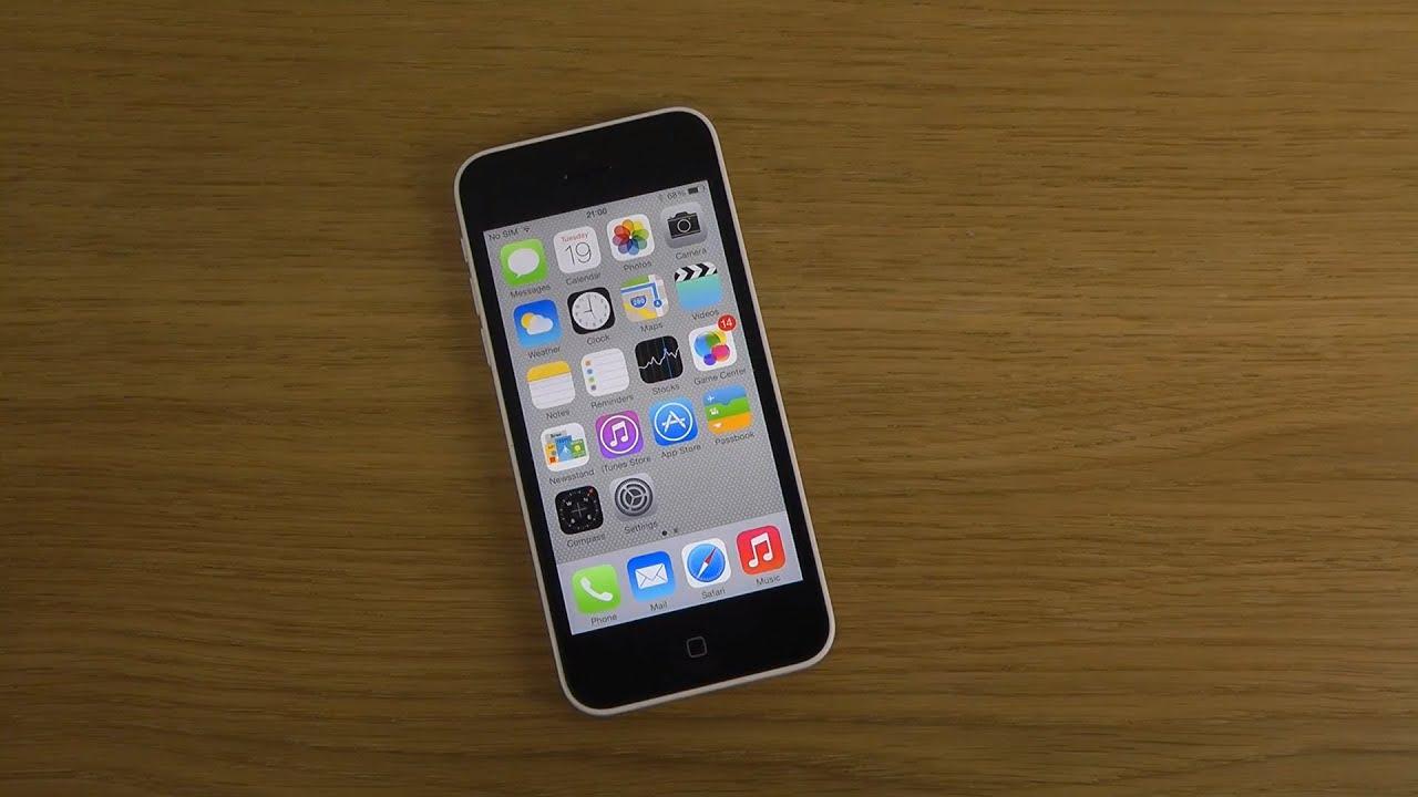 iphone 5c ios 7 1 beta   review   youtube