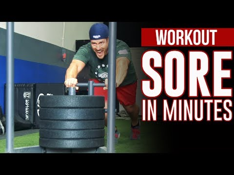 Prowler Sled Workouts 5 Best Moves for LOWER BODY Power