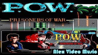 P.O.W. Prisoners Of War Video Game 80-90s [Alex Video Music Tribute To P.O.W.]