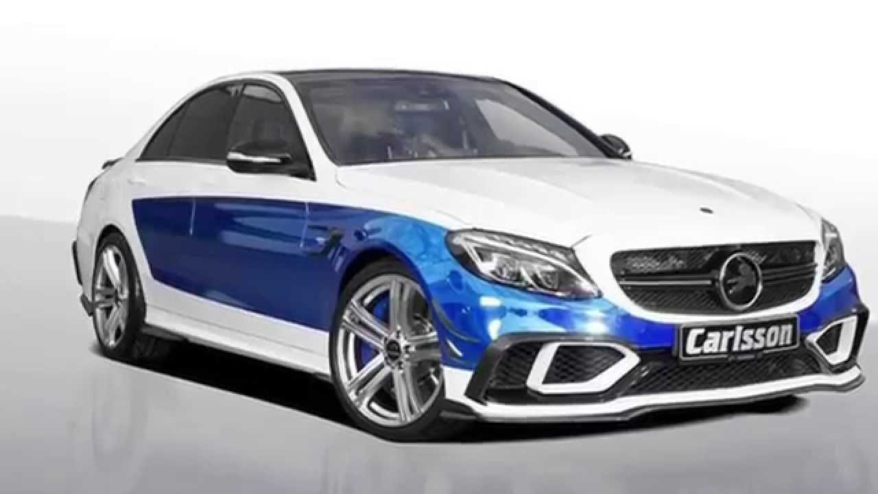 mercedes benz w205 c63 amg tuning by carlsson youtube. Black Bedroom Furniture Sets. Home Design Ideas