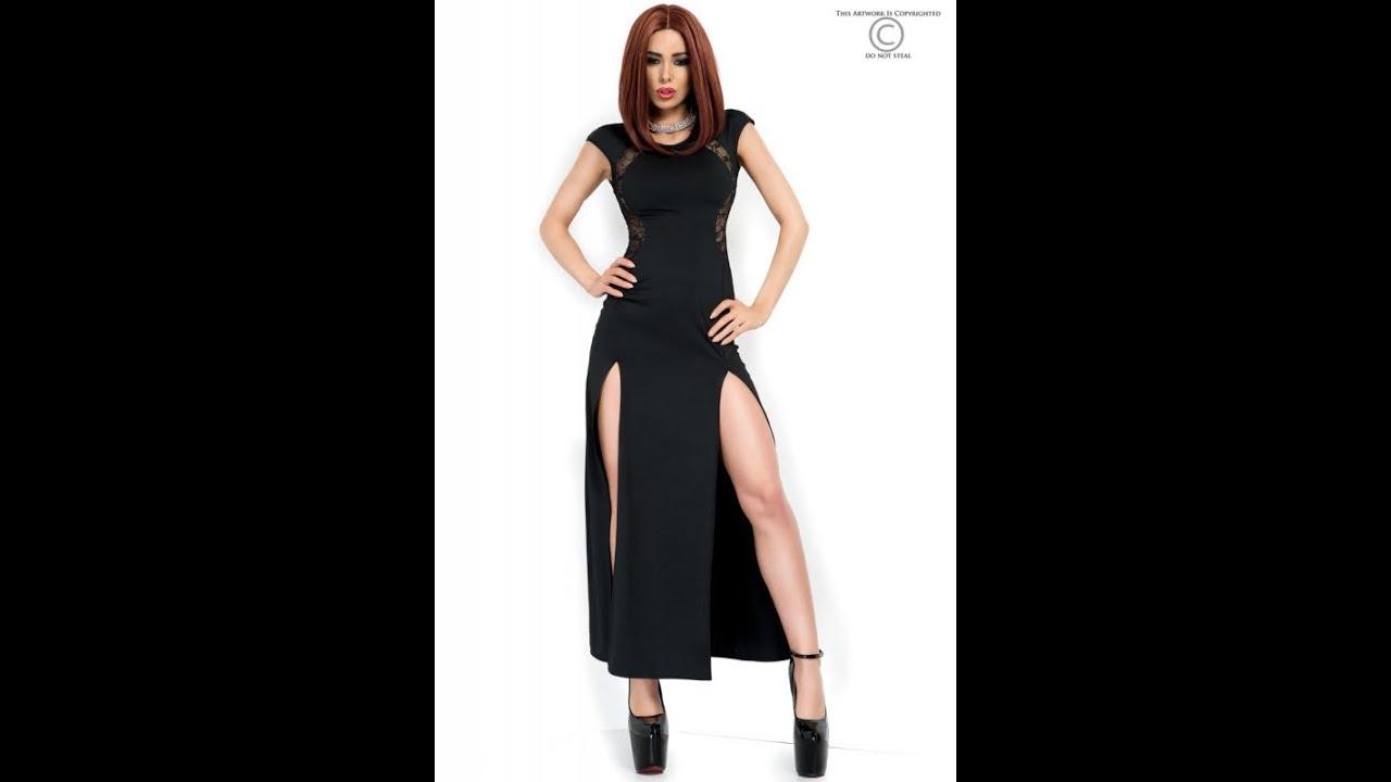 Abendkleider schwarz - Sexy Abendkleider Online Kaufen! - YouTube