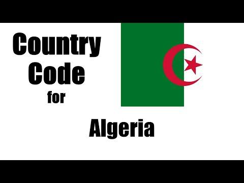 Algeria Dialing Code - Algerian Country Code - Telephone Area Codes In Algeria