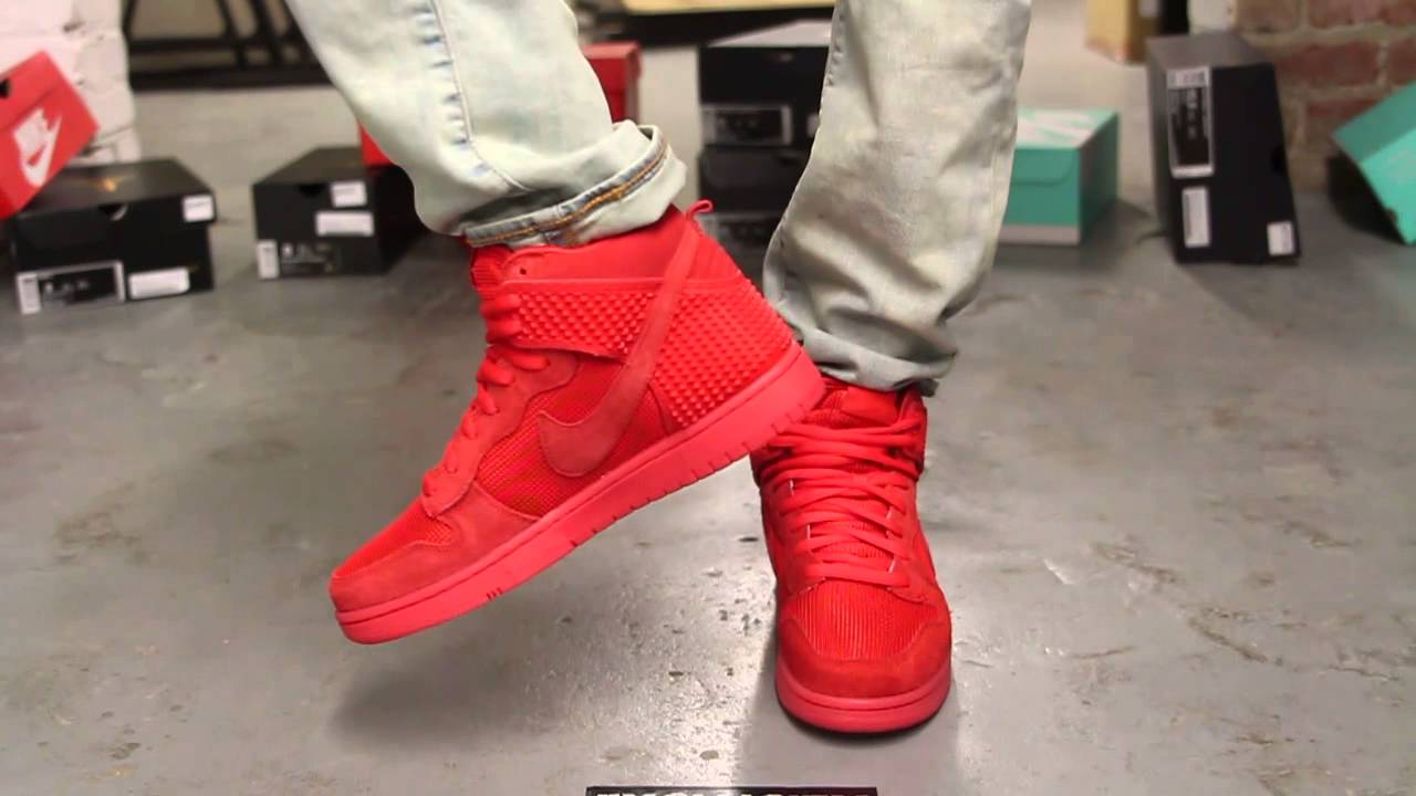 Nike Air Force 1 High Red October