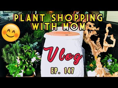 PLANT SHOPPING WITH MOM | EP. 147