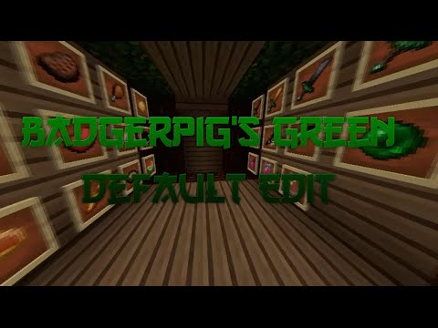 minecraft-resource-pack-review-#1:-badgerpig's-green-default-edit