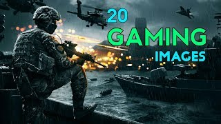 🔥20 Best Gaming Whatsapp Dp Images | Free Gaming Images Download Now | UniqueError75