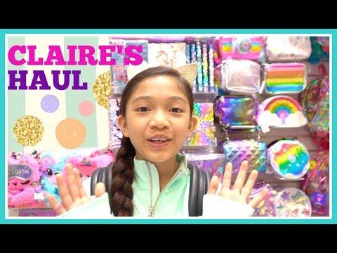 CLAIRE'S Haul