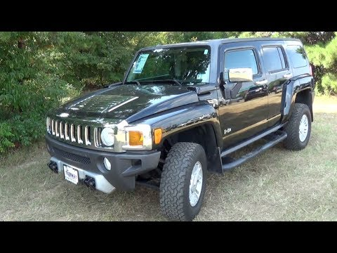 2008 Hummer H3 Luxury Startup, Tour & Test Drive