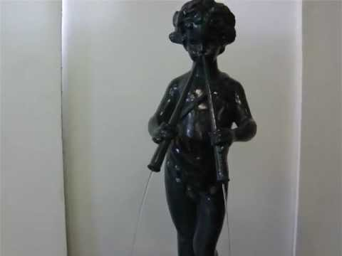 Piper of the Garden fountain by Florentine Craftsmen division of Kenneth Lynch & Sons
