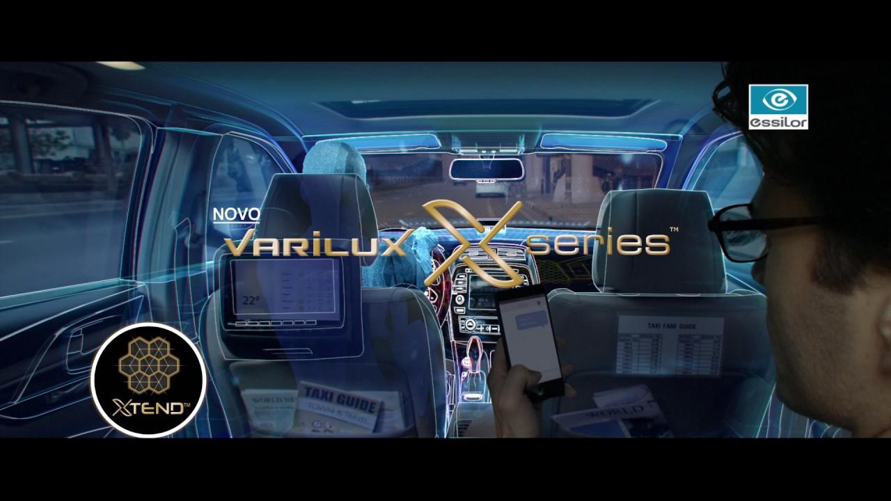 8e325ea624 Varilux® X series - Uma revolução nas lentes progressivas - YouTube