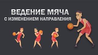 Ведение мяча с изменением направления /Баскетбол/(Ведение мяча с изменением направления /Баскетбол/ Дополнительное образование: День здоровья