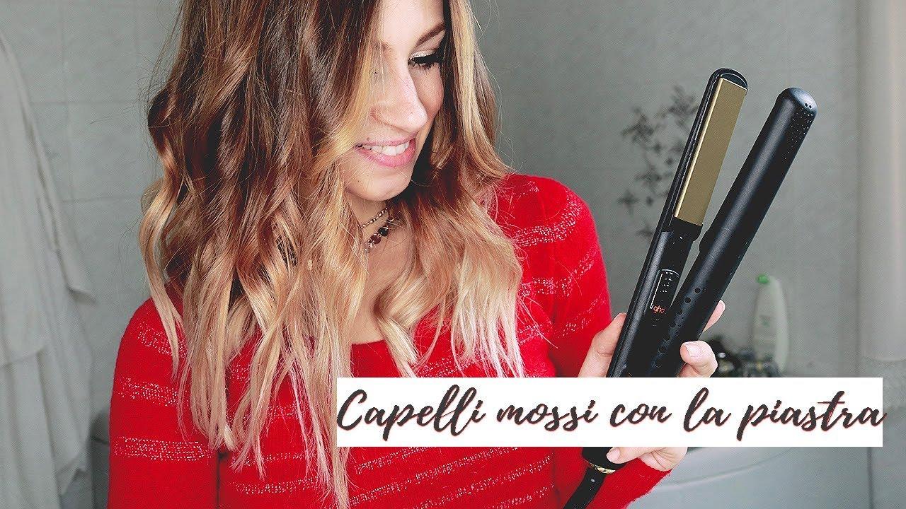 Capelli Mossi Con La Piastra Youtube