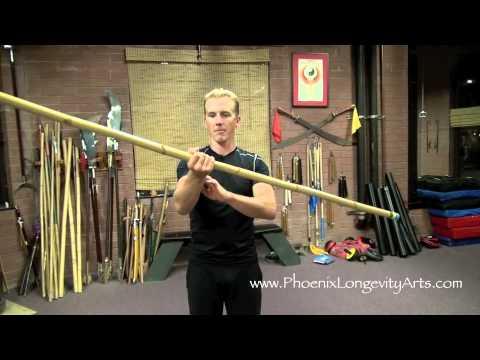Bo Staff Spins, Video 3